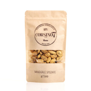 Spiced Thyme Almonds